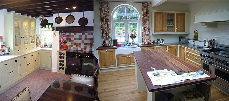 Shaker Style Farmhouse Kitchen